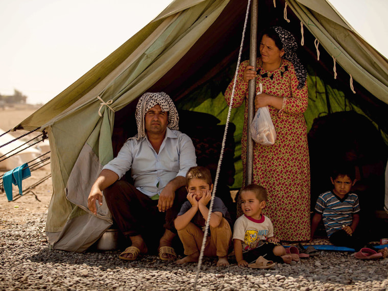 Syrian refugees - Emma Margolin - 08/29/2013