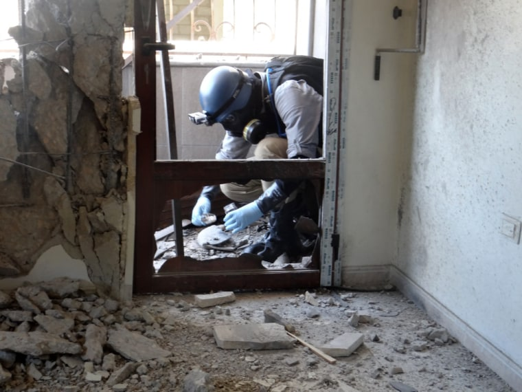 SYRIA-CONFLICT-UN-CHEMICAL