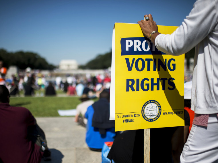 Obama Voting Rights - 08/29/2013
