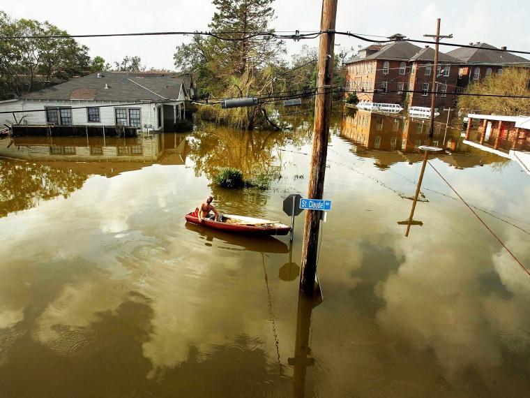 Hurricane Katrina 8th Anniversary - Emma Margolin - 08/29/2013