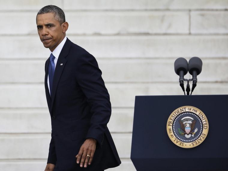 Barack Obama, Syria - 08/28/2013