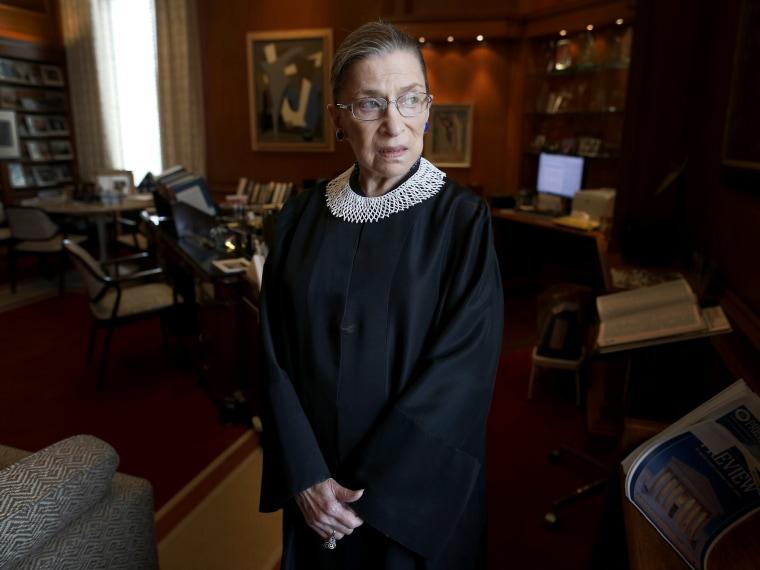 Ruth Bader Ginsburg - Sarah Muller - 08/30/2013