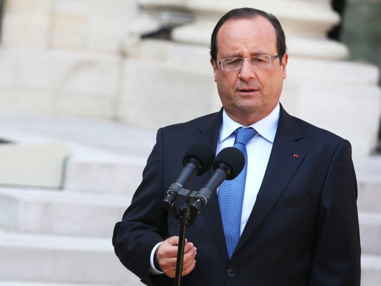 Francois Hollande, Syria - 08/30/2013