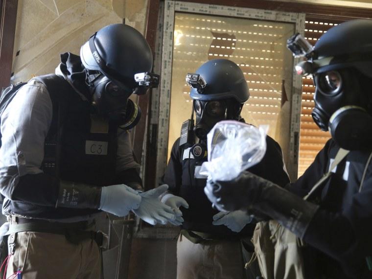 Syria Chemical Weapons - Adam Serwer - 08/30/2013