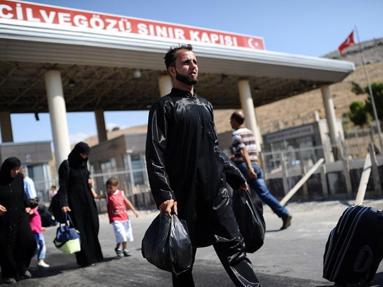 TURKEY-SYRIA-UNREST-REFUGEES