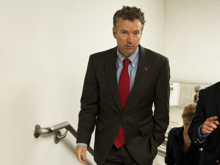 Rand Paul's comments on Meet the Press - Meredith Clark - 09/1/2013