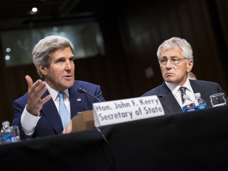 Kerry, Hagel hearing on Syria- Aliyah Frumin - 09/3/2013