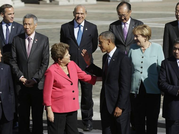 Barack Obama, Dilma Rousseff,