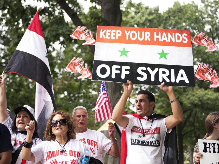 Syria Poll - Ali Vitali - 09/9/2013