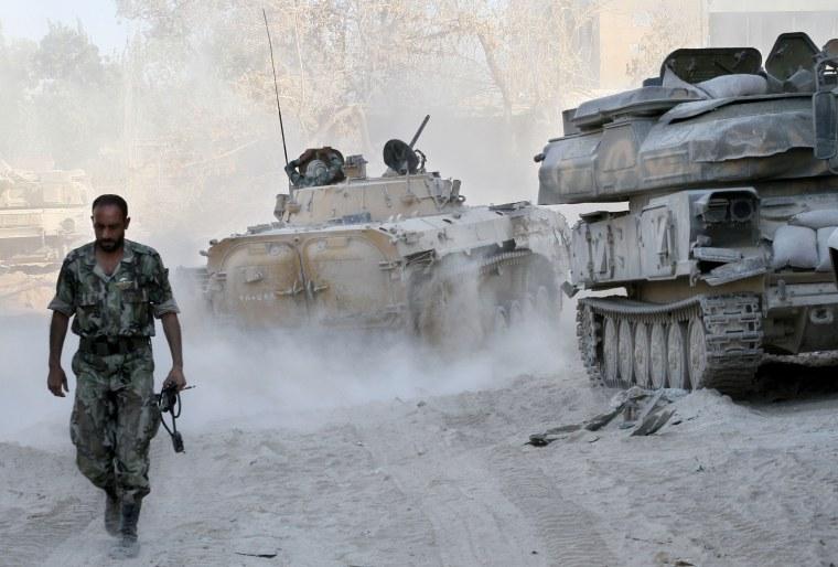 Mideast Syria Assads Options
