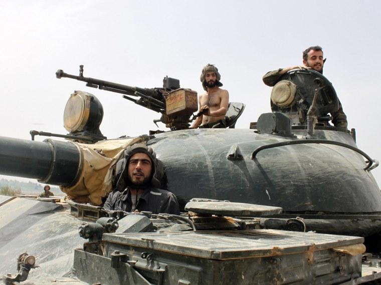 Syrian weapons - Adam Serwer - 09/10/2013