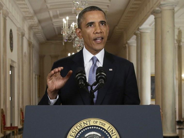 Barack Obama Syria Speech 2 - 09/10/2013