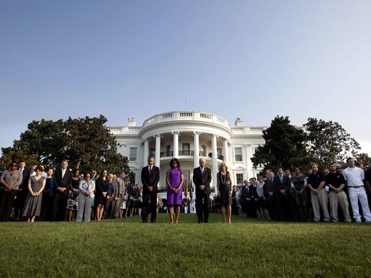 Barack Obama, Michelle Obama, Joe Biden, Jill Biden