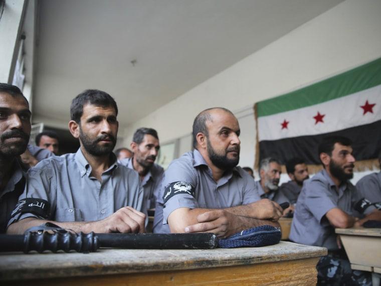Syrian rebels - Abby Borowitz - 09/11/2013