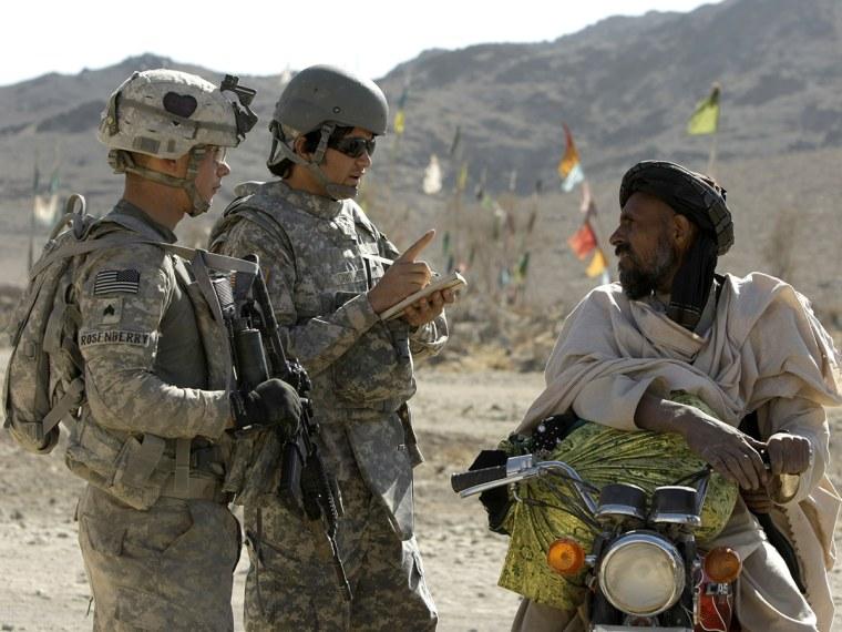 Afghan Interpreters - Meredith Clark - 09/12/2013