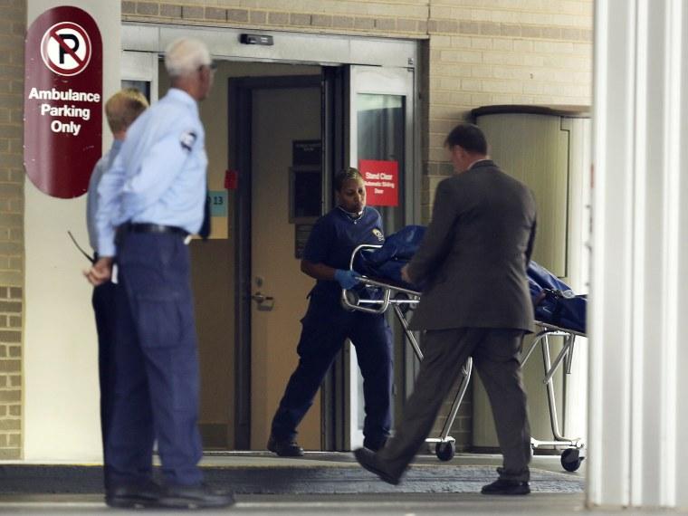 George Washington University Hospital in Washington - 09/16/2013