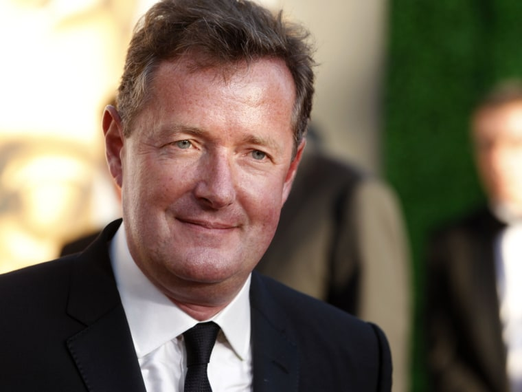 Image: CNN host Piers Morgan arrives at the BAFTA Brits to Watch event in Los Angeles