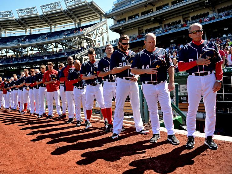 Atlanta Braves v Washington Nationals - Game One