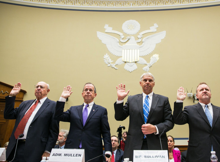 House Holds Hearing On The Benghazi Consulate Attacks - Traci Lee - 09/19/2013
