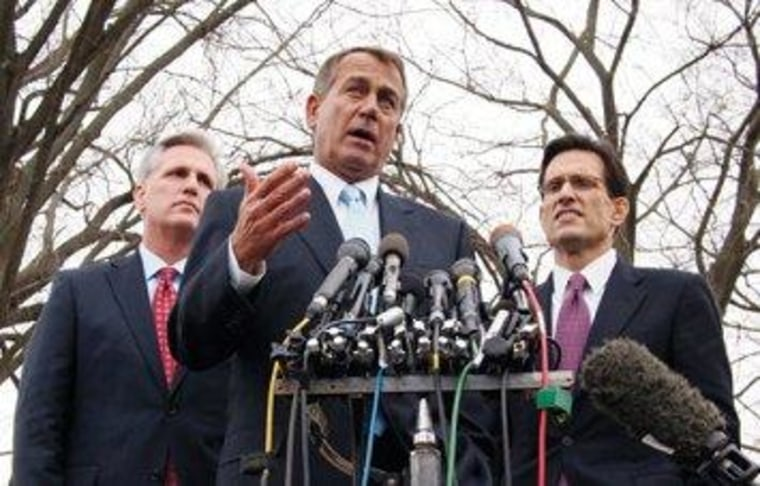 The House Republican leadership