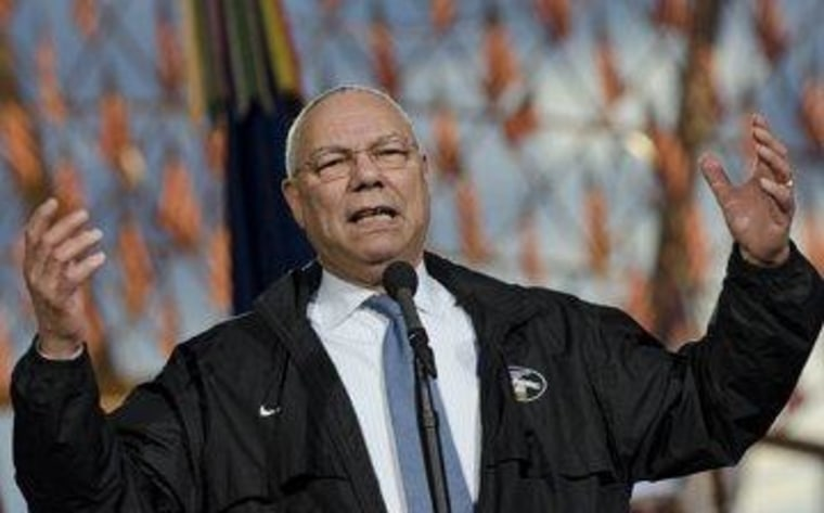 Powell says what McCrory doesn't want to hear