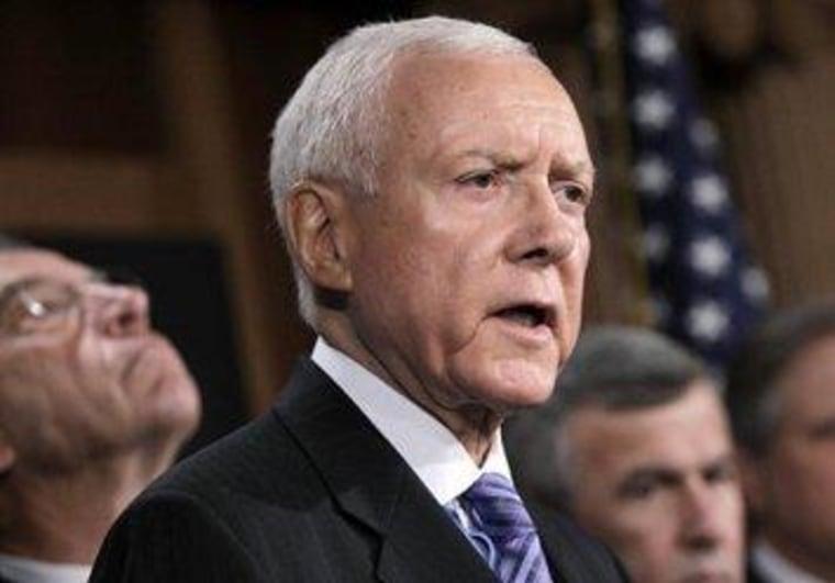Hatch reflects on a 'pretty darn fine president'