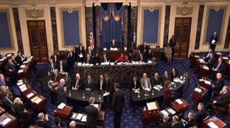 U.S. Senate floor