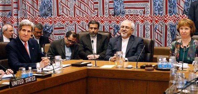 Secretary of State John Kerry's historic meeting with Iran's foreign minister, Mohammad Javad Zarif