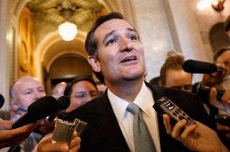 Congress abhors a vacuum