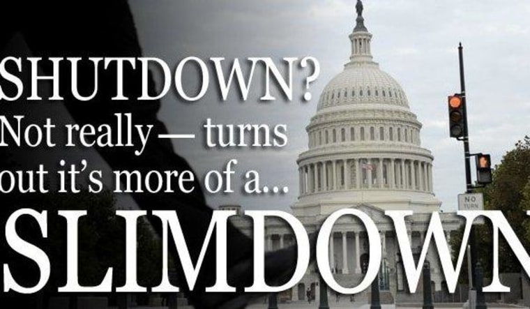 A shutdown by any other name...