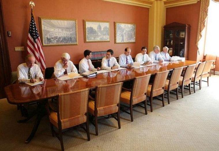 Congressional Republicans debate empty chairs, lose