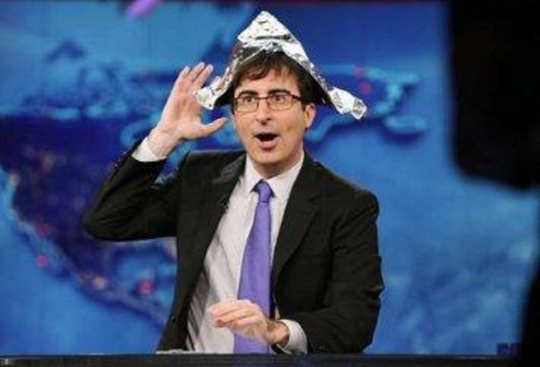 The side of the political divide wearing tin-foil hats