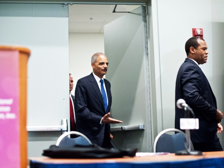 Holder talks Voting Rights Act  - Morgan Whitaker - 09/20/2013