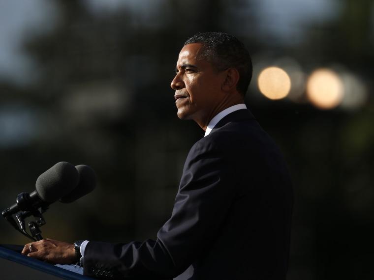 Barack Obama Speaking-Navy Yard Service