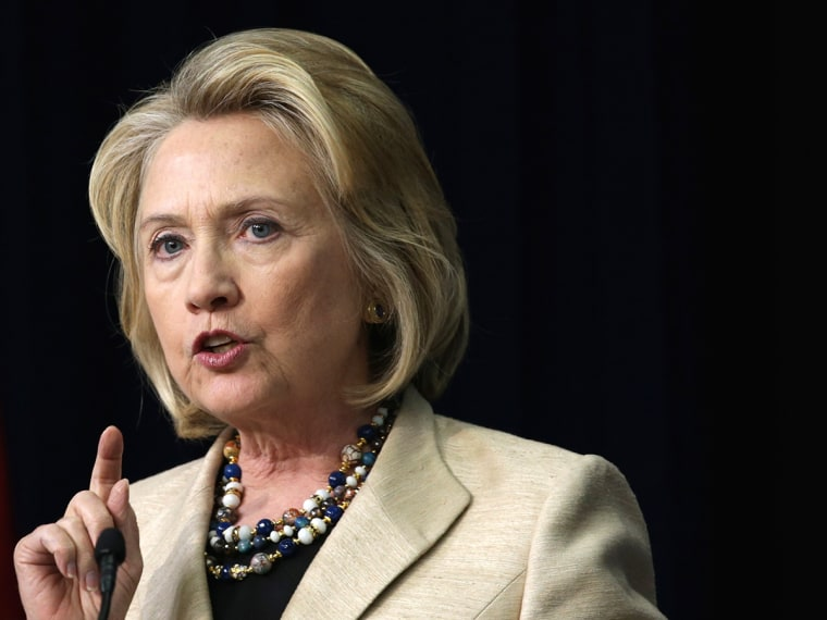 Hillary Clinton Joins Sally Jewell At White House Forum On Wildlife Trafficking