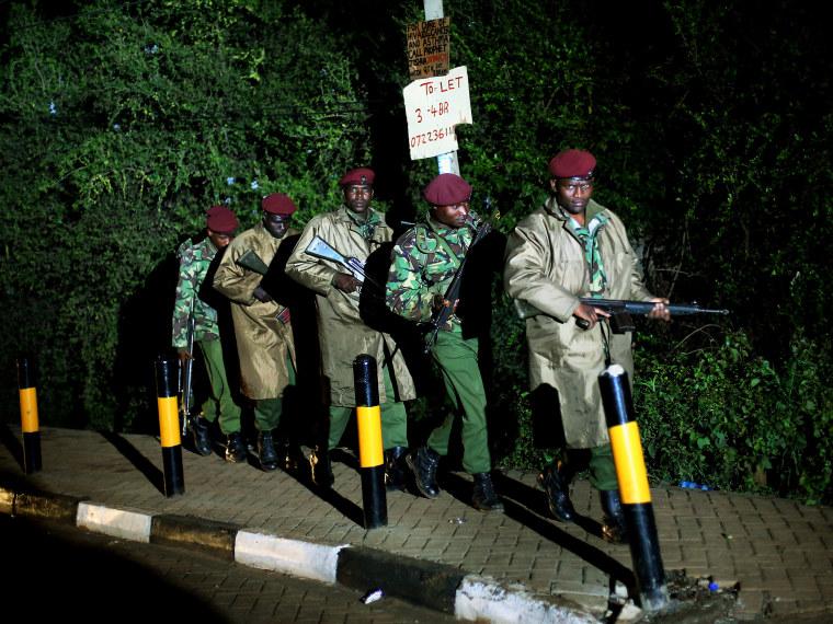 Kenya Mall Attack - Aliyah Frumin - 09/23/2013