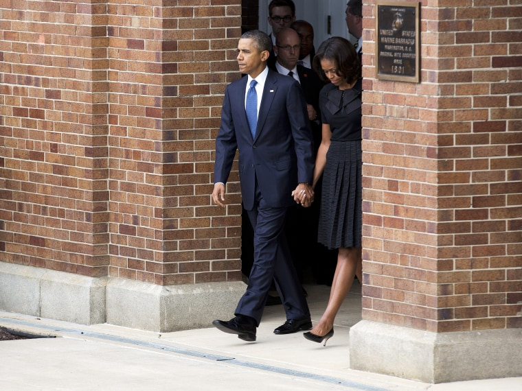 Weary of mass killings, Obama fears tragedy is 'new normal' - Trymaine Lee - 09/23/2013