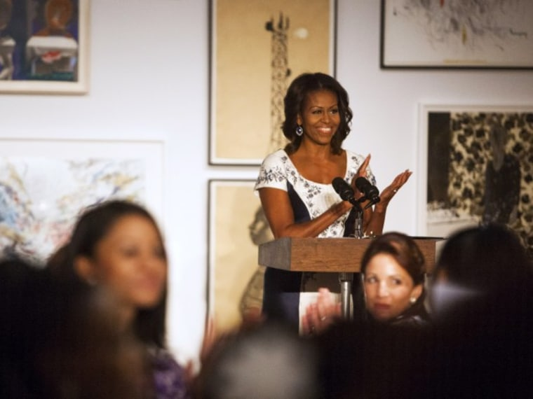 Michelle Obama hosts luncheon at Studio Museum of Harlem - Sarah Muller - 09/24/2013