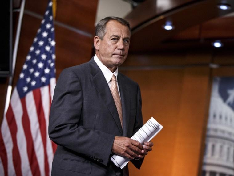 John Boehner- Debt Ceiling- 09/25/13