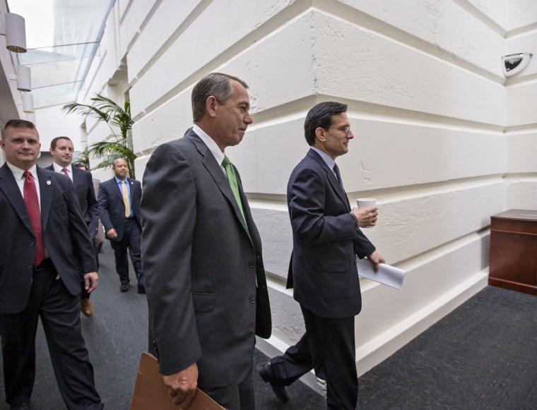 John Boehner, Eric Cantor - Suzy Khimm - 09/26/2013