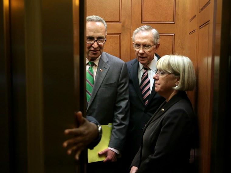 US Senate Votes On House Spending Bill