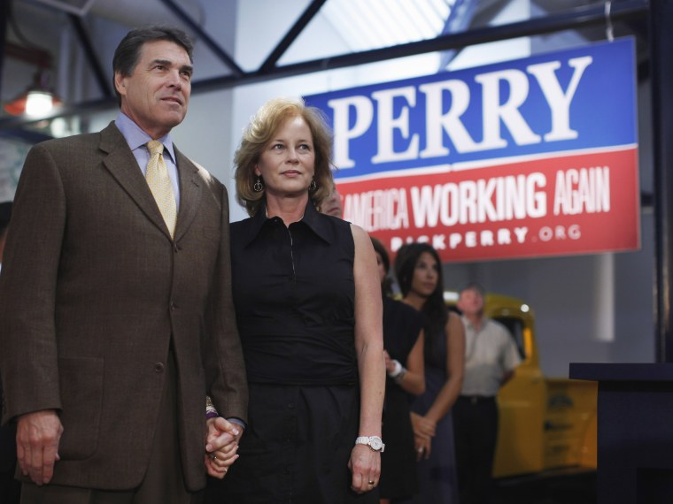 Rick Perry, Anita Perry- 09/29/13