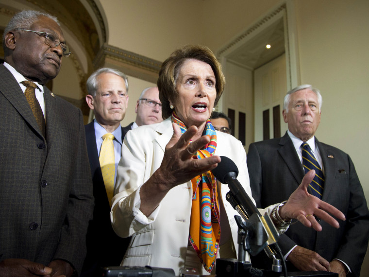 Nancy Pelosi, James Clyburn, Steny Hoyer, Steve Israel, Joseph Crowley