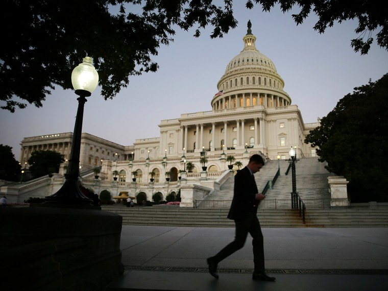 Congress Meets As Government Shutdown Looms