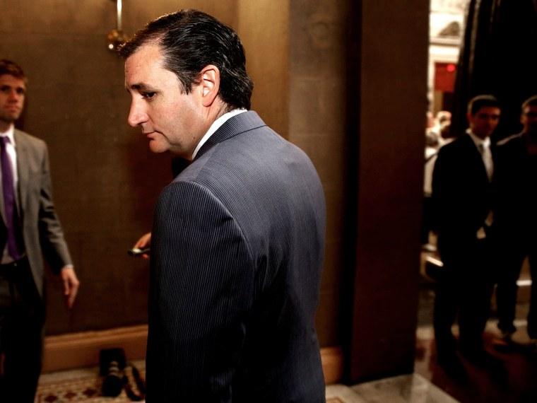 Ted Cruz Still An Unknown - Jane Timm - 10/02/2013