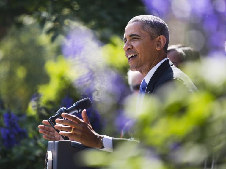Obama Speaks About Shutdown in Washington DC