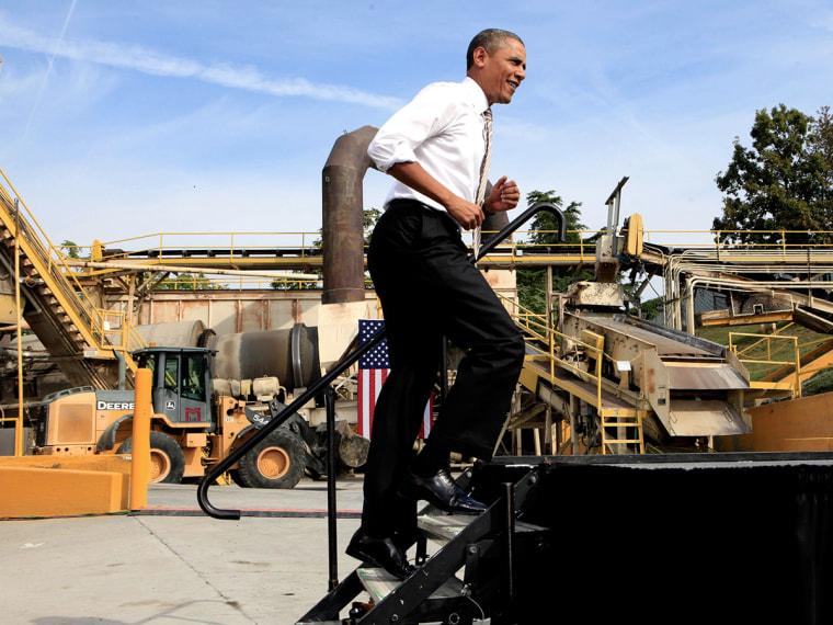 President Obama Speaks In Maryland