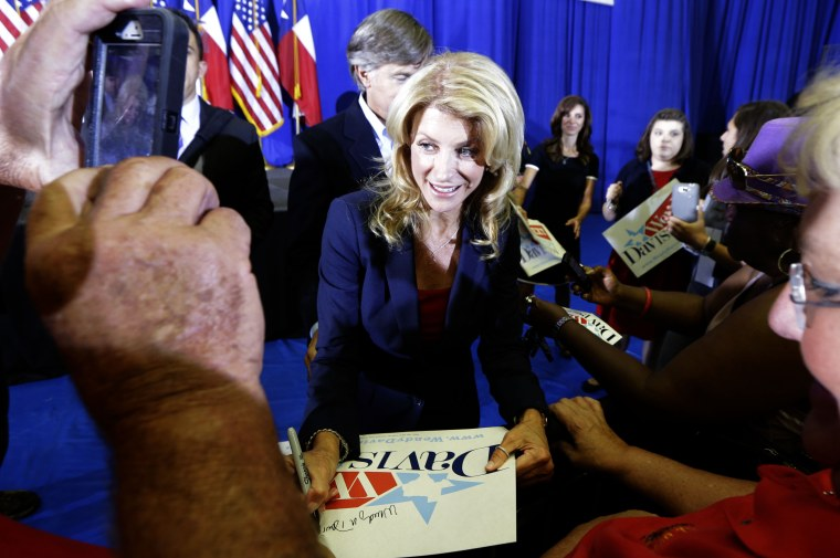 Wendy Davis Announces Gubernatorial Campaign
