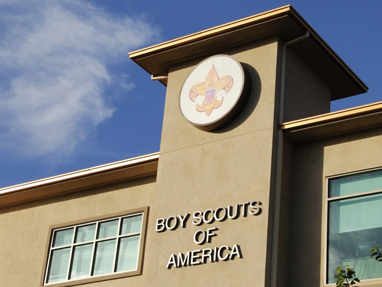 Image: File photo of the Cushman Watt Scout Center, headquarters of the Boy Scouts of America for the Los Angeles Area Council, in Los Angeles
