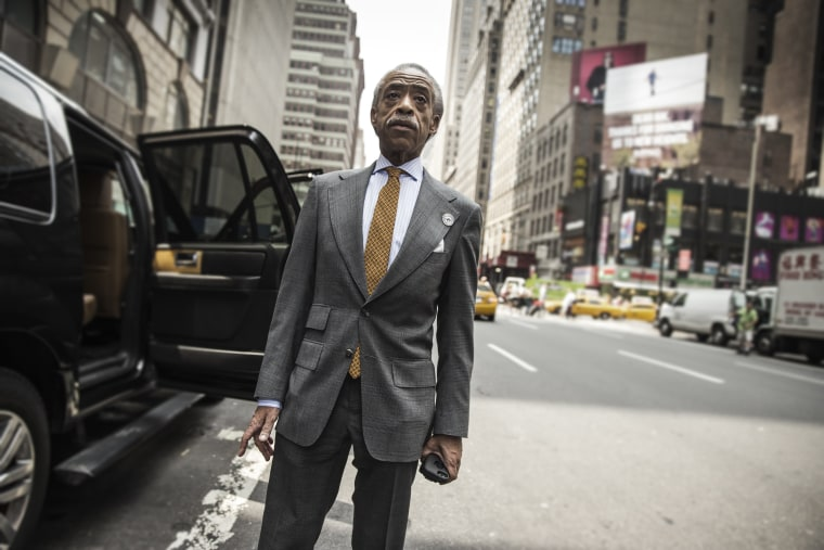 A day in the life of Reverend Al Sharpton.